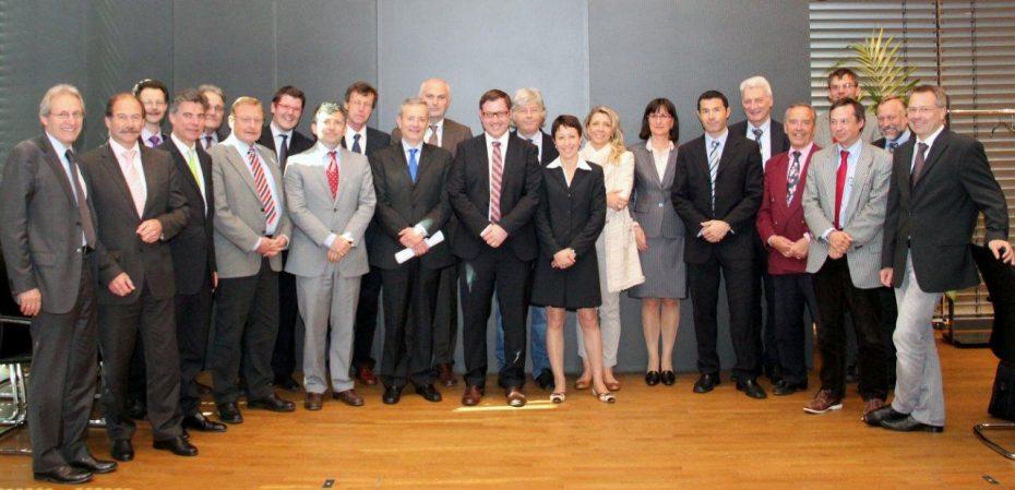 Fachkommission der Aktionsgemeinschaft Brennerbahn in Bozen