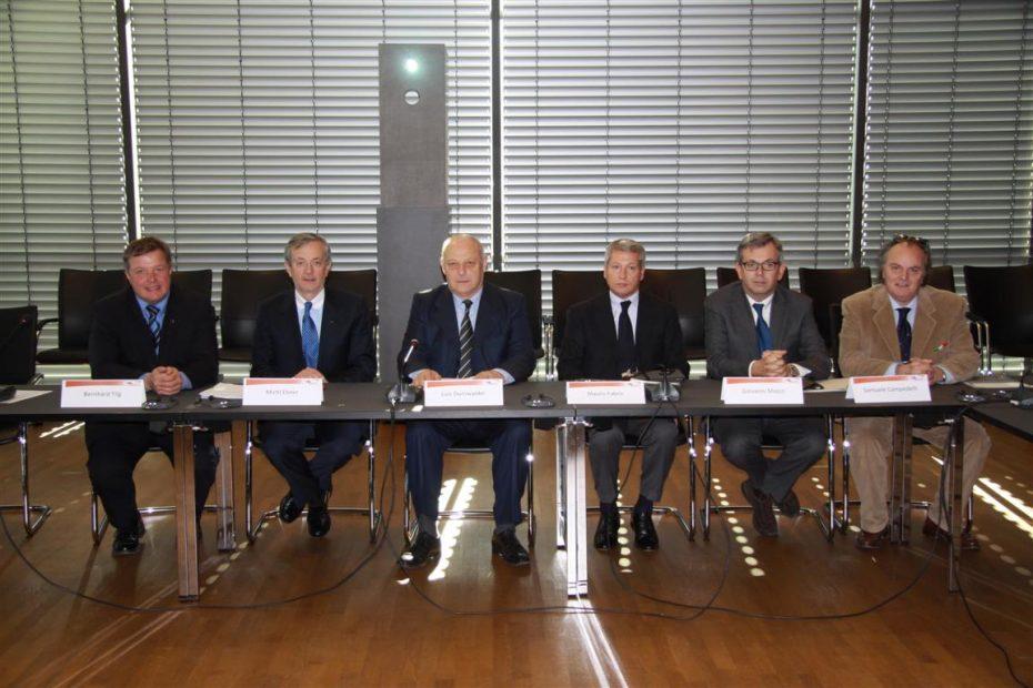 Präsidentenkonferenz der Aktionsgemeinschaft Brennerbahn tagte in Bozen