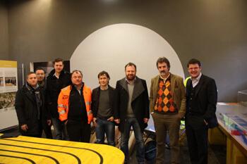 Brennerbasistunnel: LVH-Spitze trifft mit ausführenden Firmen zusammen