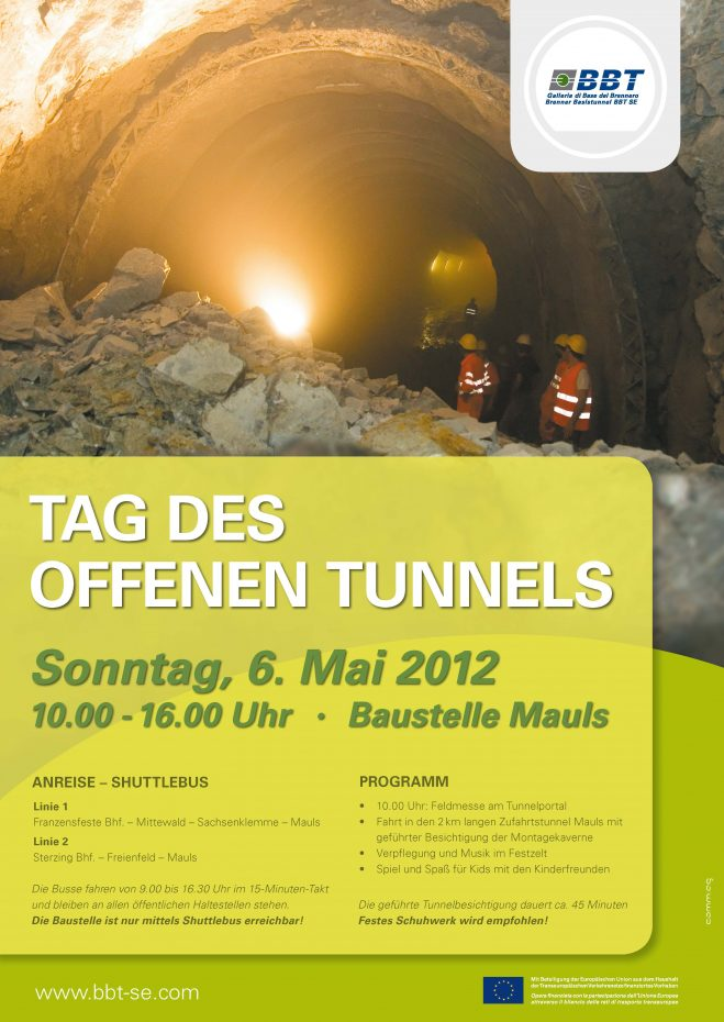 Tag des Offenen Tunnels in Mauls