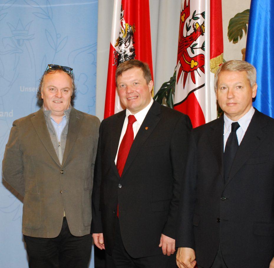 Erste Sitzung der AGB unter Tiroler Präsidentschaft