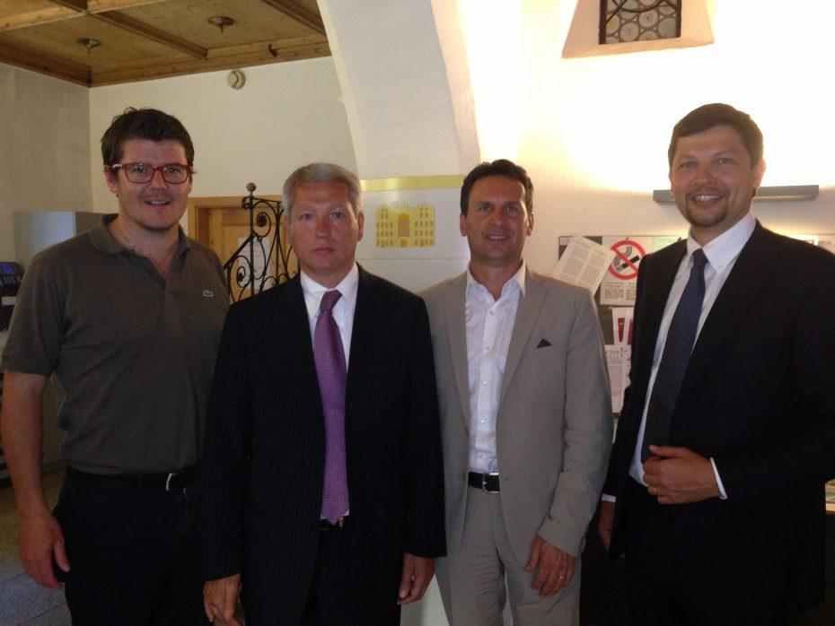 Zusammentreffen RFI – Bürgermeister