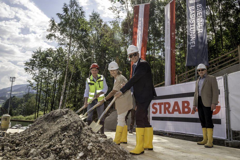 Beginn der Bauarbeiten für das bisher größte Baulos des BBT