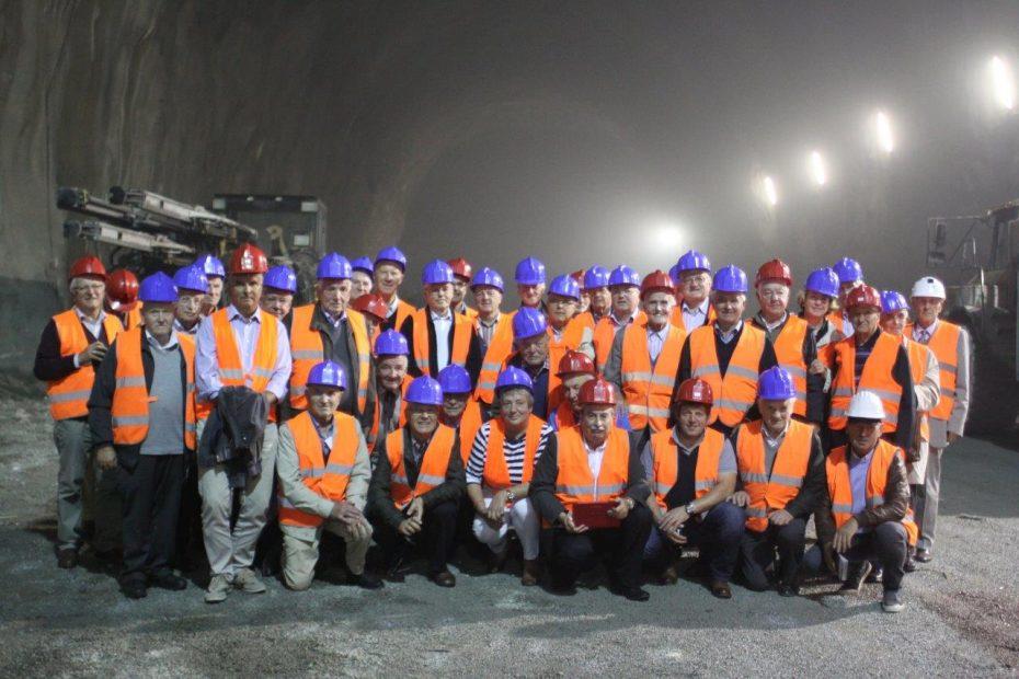 Altbürgermeister besichtigen Brenner Basistunnel und Festung Franzensfeste