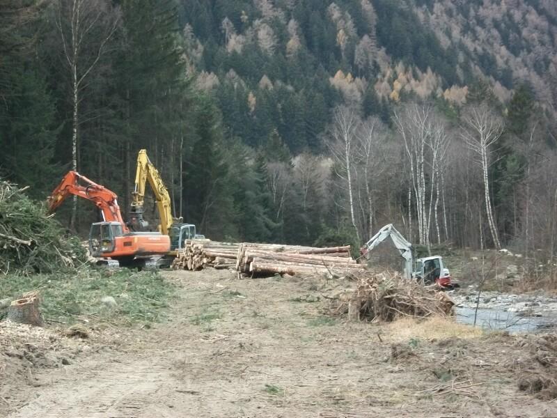Umweltausgleichsmaßnahmen zum Bau des Brenner Basistunnels