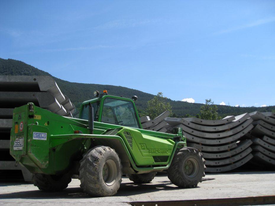 BBT: Verwertung Ausbruchsmaterial und Tübbingfabrik