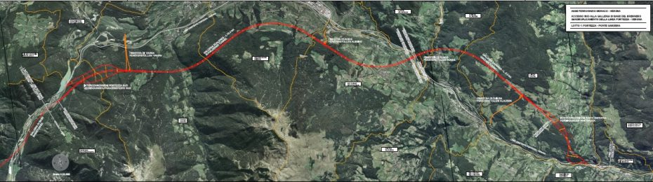Grünes Licht für Baulos 1 der BBT-Zulaufstrecke Franzensfeste-Waidbruck