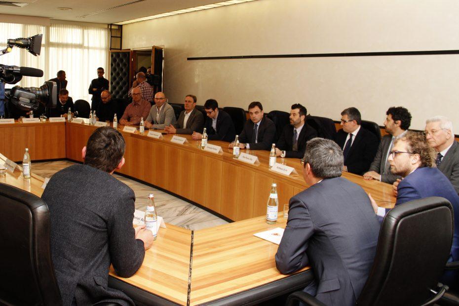 Minister Lotti dankt LH Kompatscher für gute Zusammenarbeit