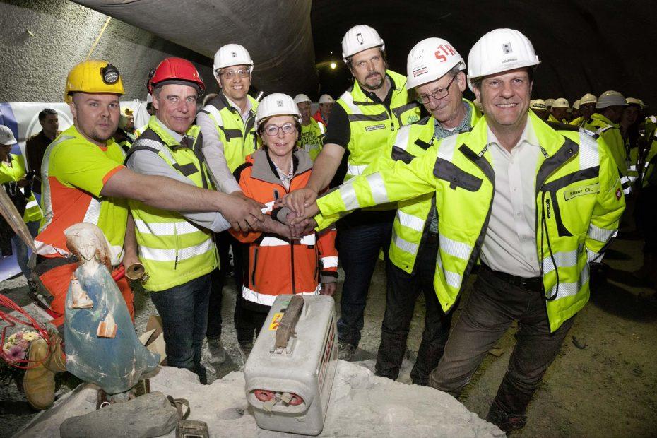 Brenner Basistunnel – Durchschlag erster Verbindungstunnel vom Unterinntal ins Wipptal