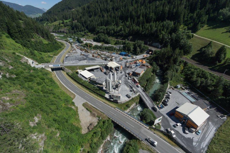 Affidamento del più grande lotto di costruzione all'interno dell'area di progetto austriaca