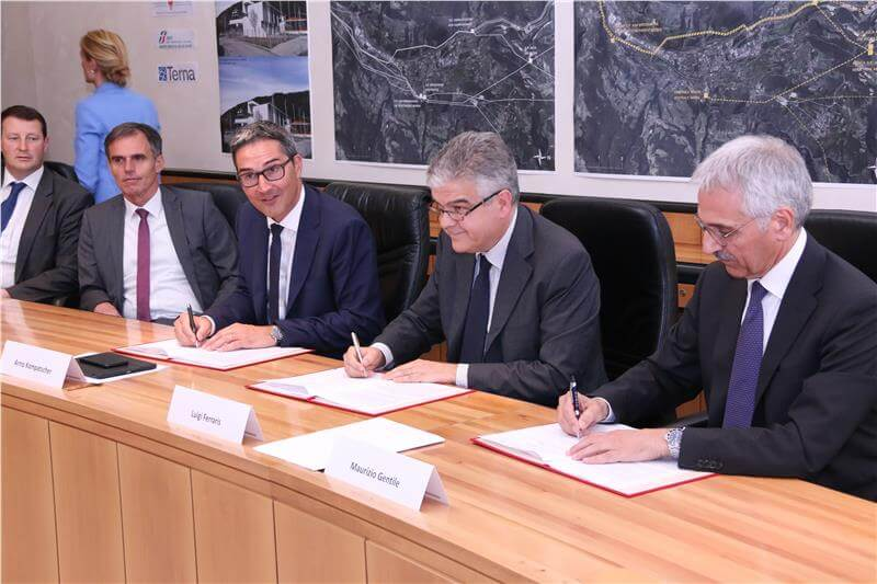 Abkommen Land-RFI-Terna: Qualitätssprung in der Energieversorgung