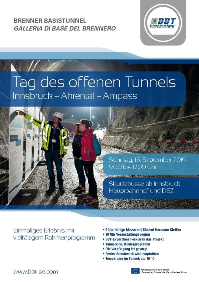 Tag des offenen Tunnels in Innsbruck/Ahrental/Ampass