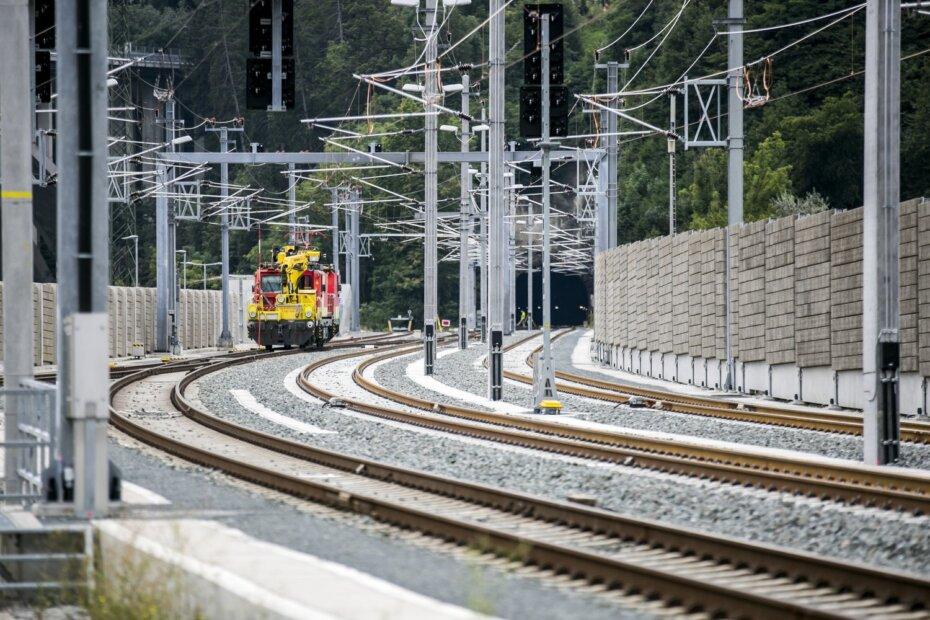 Feierliche Inbetriebnahme der dreigleisigen Einfahrt Bahnhof Innsbruck