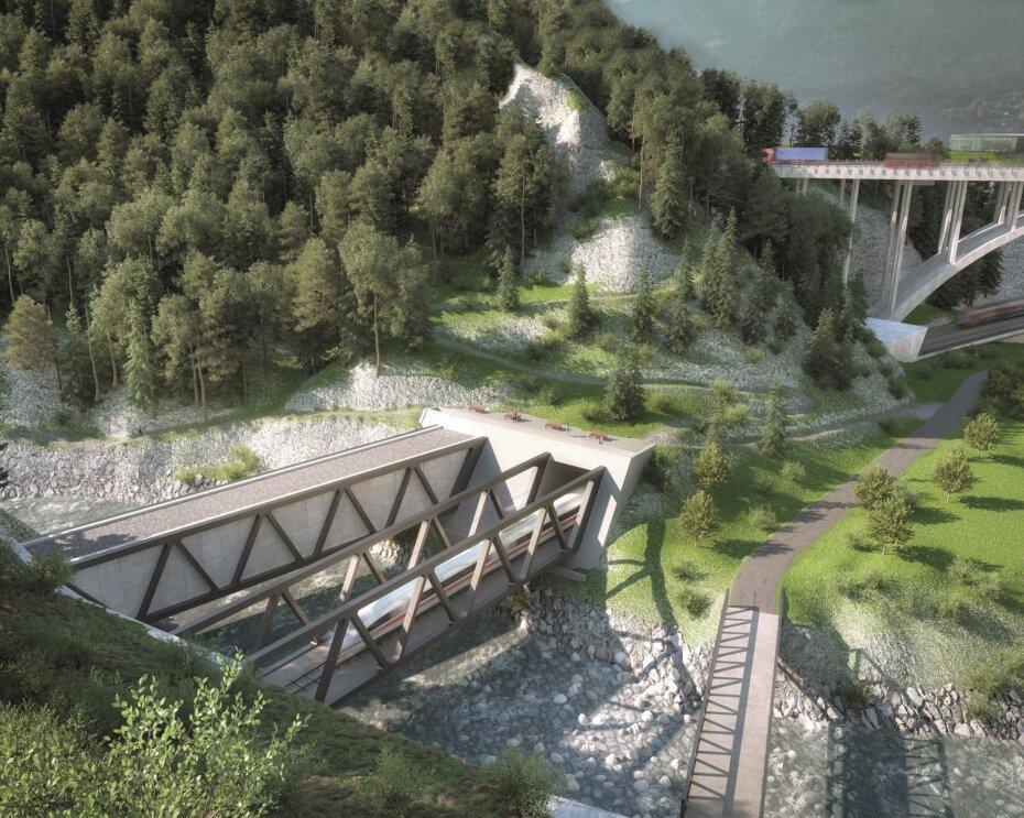 Brenner Basistunnel startet das Baulos Sillschlucht